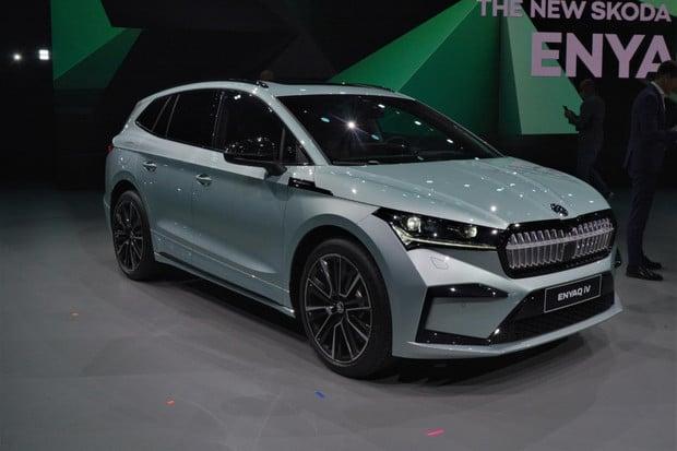 Nenechte si ujít! Svůdná Škoda Enyaq iV odhalena v plné kráse (fotogalerie)