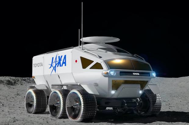 Měsíční vozidlo od Toyoty na palivové články nabídne dojezd 10 000 km