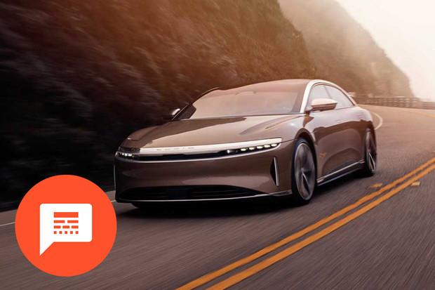 Průlomový elektromobil Lucid Air, Musk a Diess kují pikle a další novinky