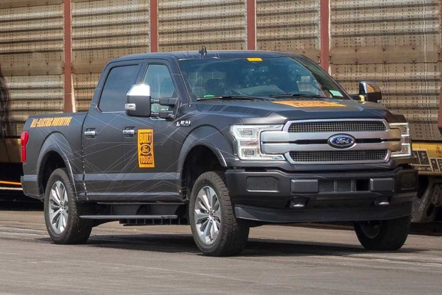 Ford zveřejnil video z testování elektrické F-150