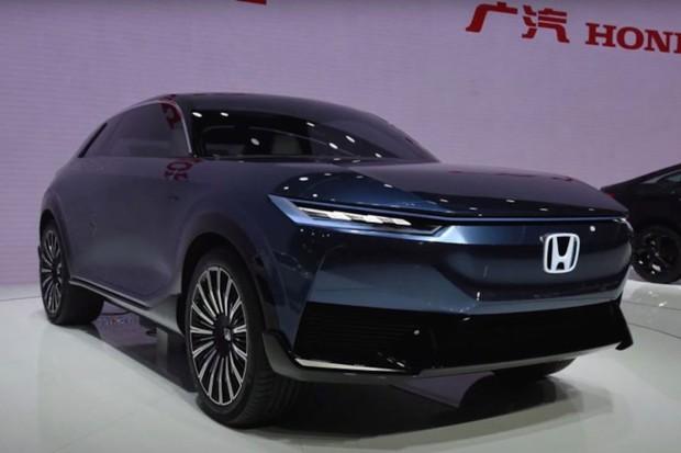 Honda představuje elegantní koncept elektrického SUV