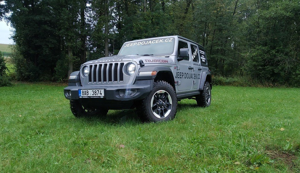 Jeep Wrangler Unlimited 2.2 CRDi Rubicon