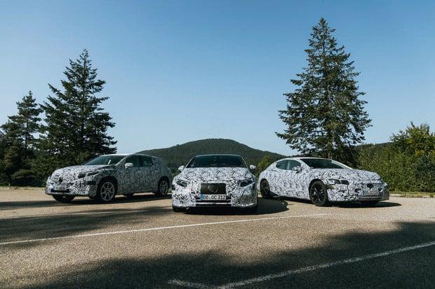 Mercedes připravuje 6 nových elektromobilů a 2 elektrické platformy