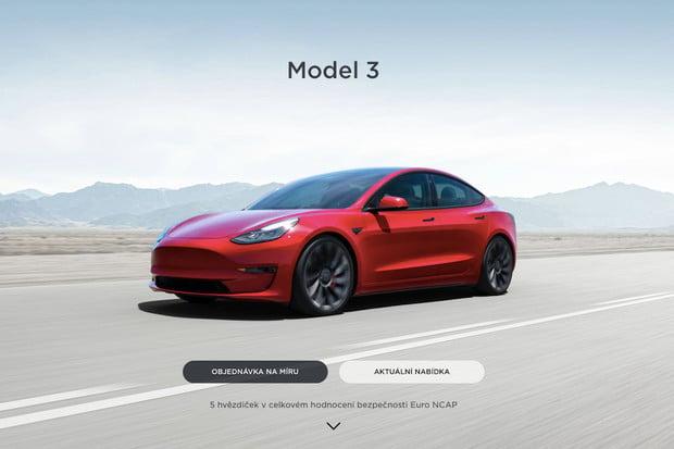 Tesla oficiálně potvrdila modernizovaný Model3, má delší dojezd a stejnou cenu