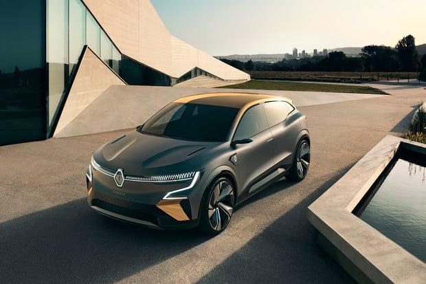 Renault představil studii kompaktního elektromobilu Mégane eVision