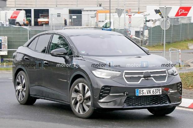 Sportovně vypadající Volkswagen ID.5 se bude prodávat jen v Evropě