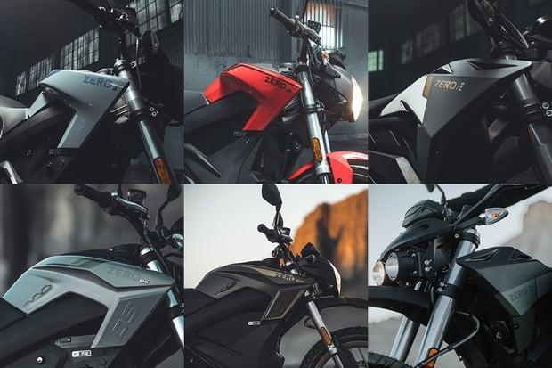 Zero Motorcycles odhalilo elektrické motorky pro rok 2021