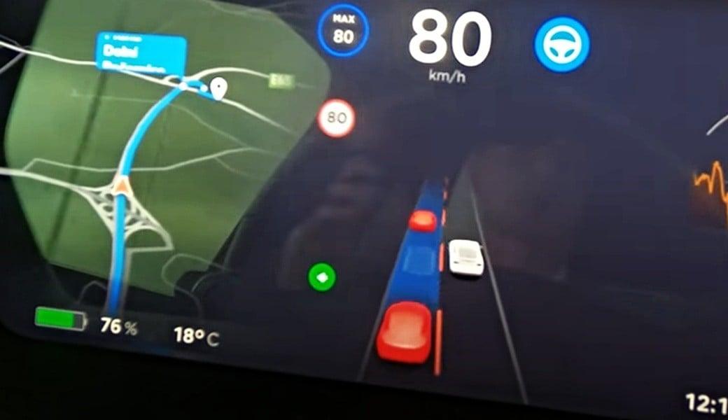 Velký test Tesla Autopilota s plným autonomním řízením v českém provozu