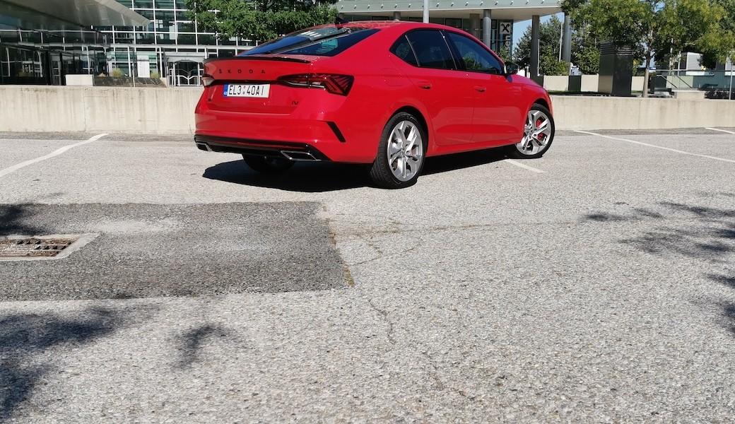 Škoda Octavia RS iV, plug-in hybridní sportovec