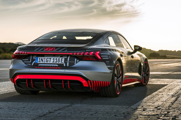 e-tron RS GT bude nejsilnější Audi historie. Známe specifikace
