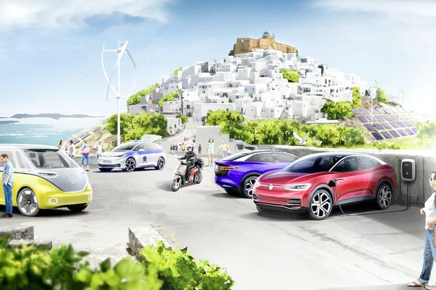 Koncern Volkswagen a Řecko vytvoří na ostrově vzor pro klimaticky neutrální mobilitu