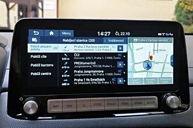 Nová Kona od Hyundai už je on-line. Vyzkoušeli jsme, co umí Bluelink