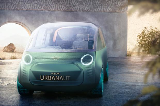 BMW představilo studii Mini Vision Urbanaut na nové platformě #NEXTGen