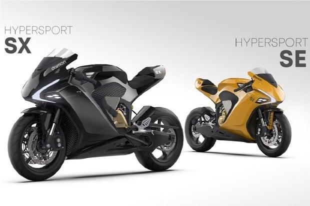 Damon představil nové Hi-tech motocykly. Mají působivé technologie
