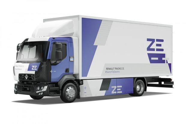 Renault Trucks dodal své první 26tunové nákladní vozidlo. Jedná se o D Wide ZE