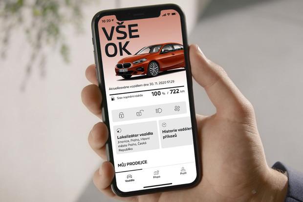Nová aplikace My BMW nyní k dispozici na 30 evropských trzích, včetně Česka