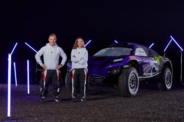 Legenda rallye vstupuje do elektrické série Extreme E