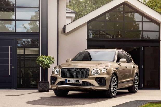 Hybridní Bentley Bentayga dostalo facelift. Nejvíce si polepšila výbava