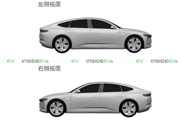 Na svět se dostaly patentové snímky velmi očekávaného modelu NIO ET7