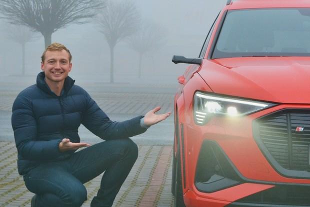 Dva týdny s novými Digital Matrix světly Audi e-tron. Jaká jsou?