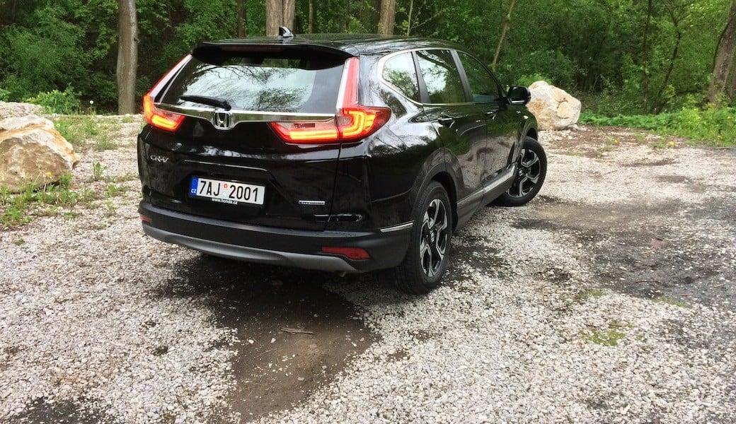 Otestovali jsme, jakou reálnou spotřebu má Honda CR-V iMMD Hybrid