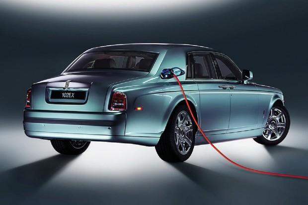 Silent Shadow odstartuje elektrickou éru u Rolls-Royce