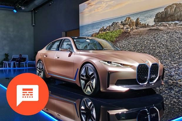 Revoluční interiér Tesly, ostré elektrické BMW, konec spalovacích motorů u GM...