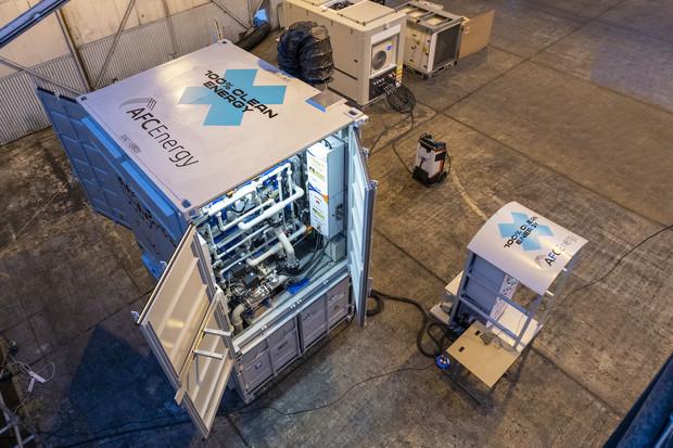 Byl představen nový vodíkový generátor. Nabíjet bude vozy Extreme E