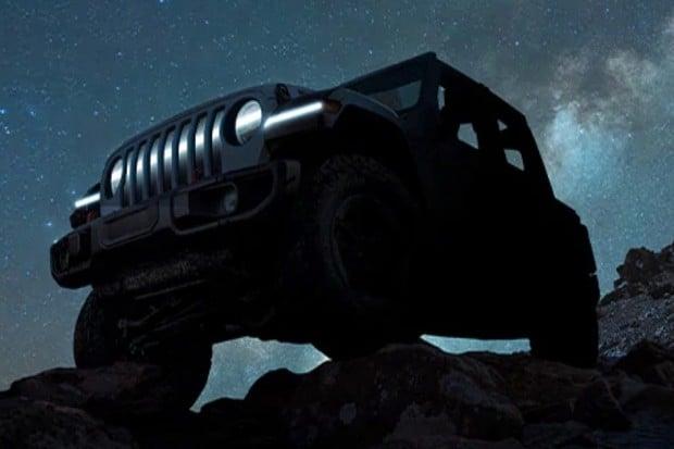 Jeep pomalu odhaluje první elektrický Wrangler