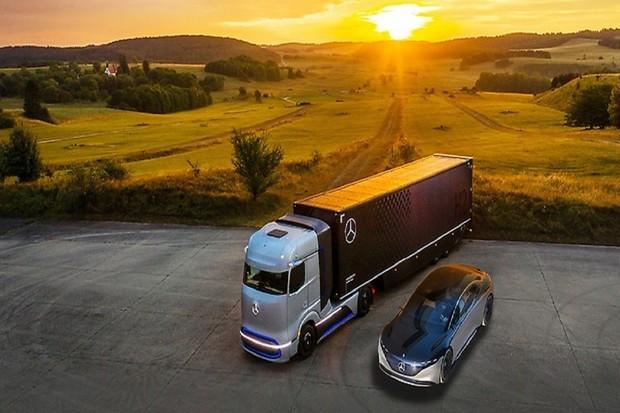 Mercedes-Benz odděluje divizi kamionů od osobních vozů