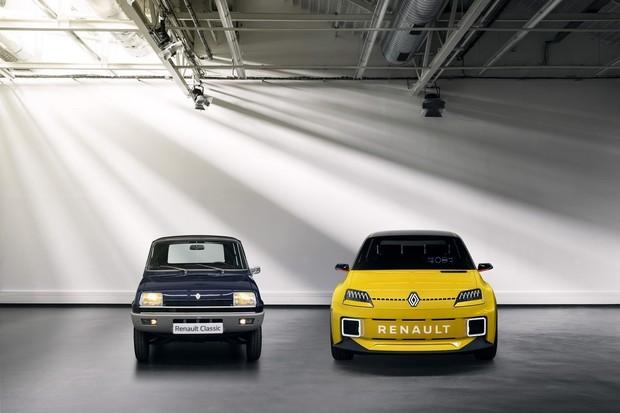 Jak vznikal slavný pohled původního Renaultu 5 pro v lednu představený prototyp?