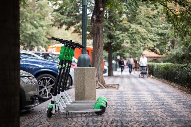 Přes aplikaci Uber si nyní v Brně půjčíte i koloběžku Lime