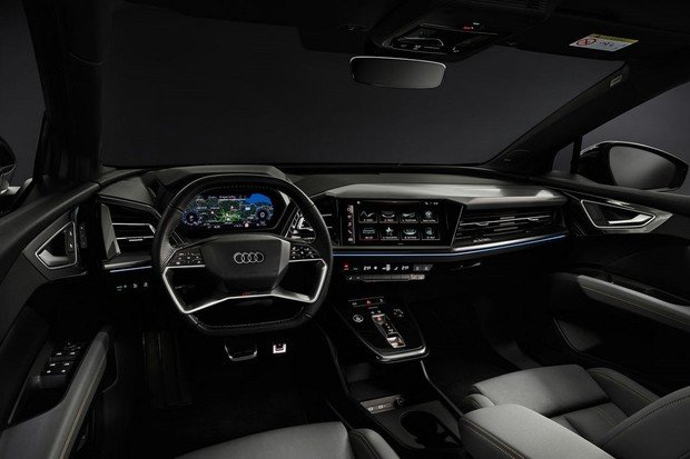 Audi ukázalo interiér elektrického Q4 e-tron a prozradilo i objem kufru