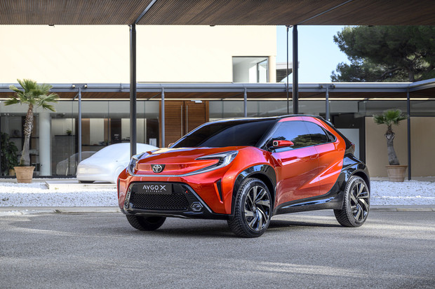 Toyota představila koncept městského crossoveru Aygo X Prologue, bude to elektromobil?