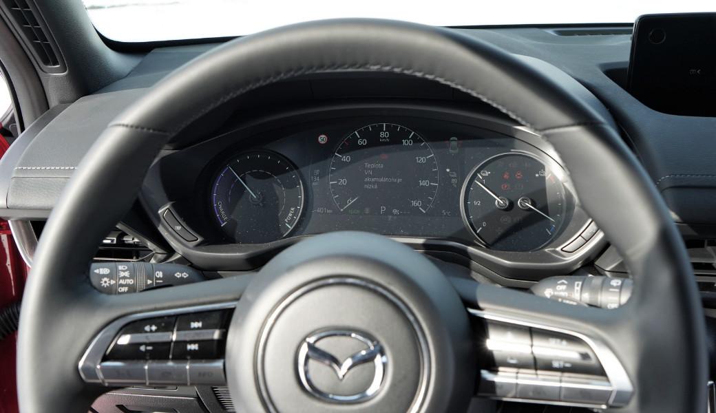 Mazda MX-30 a její chytré technologie