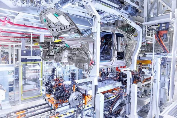 Audi zahájilo výrobu modelu Q4 e-tron ve Cvikově