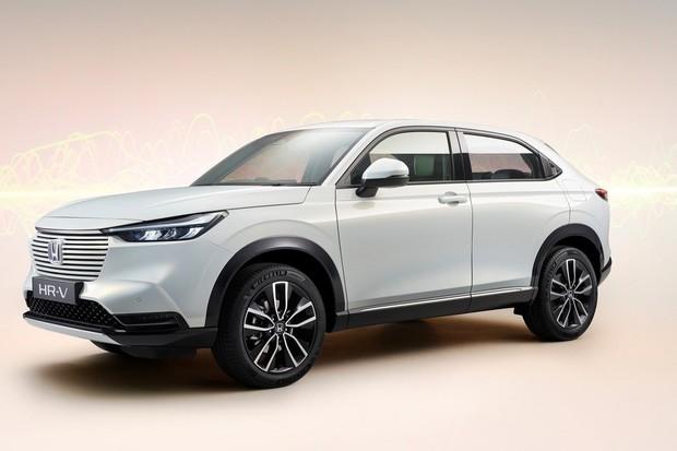 Honda odkrývá hybridní SUV kupé HR-V
