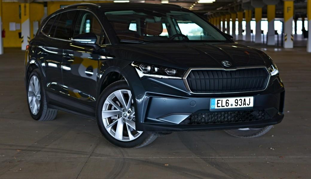 Projeli jsme první české elektro-SUV Škoda Enyaq. Jaké je a kolik ujede na nabití?