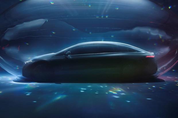 Sledujte světovou premiéru Mercedesu EQS