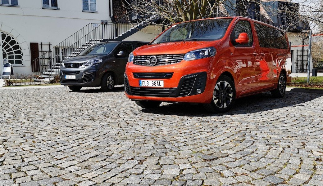 Elektrické dodávky a MPV značek Citroen, Opel a Peugeot