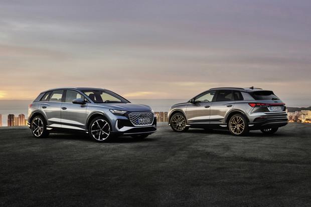 Další elektrické SUV od Audi je tady. Přivítejte finální Q4 e-tron