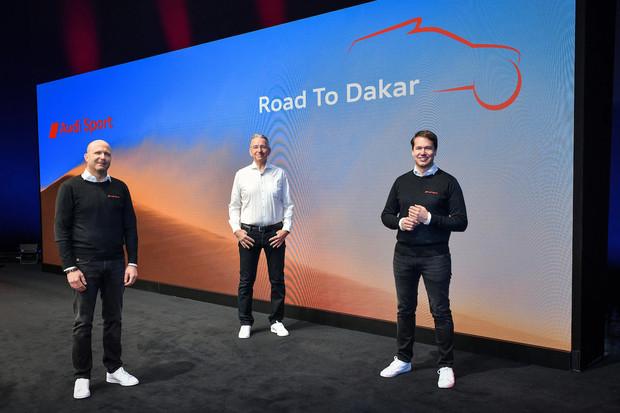 Jak Audi elektrifikuje Dakar? Auto bude nabíjet za jízdy