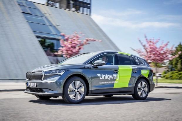 Škoda Auto nově nabízí službu studentského sdílení aut Uniqway v Mladé Boleslavi