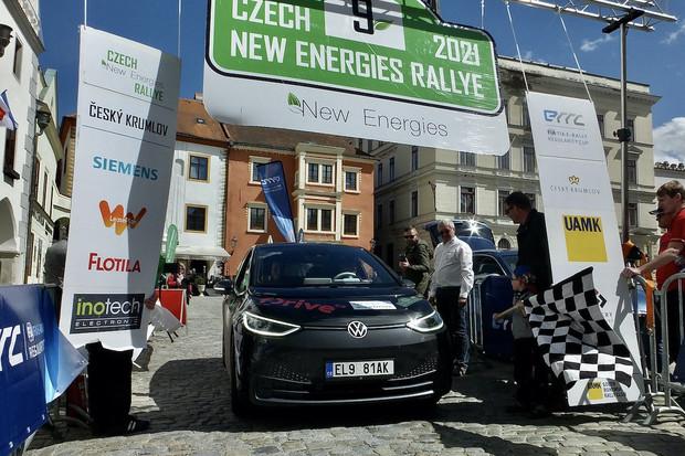 Czech New Energies Rallye pohledem řidiče Volkswagenu ID.3