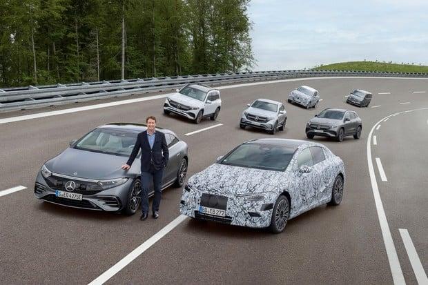 Mercedes-Benz: elektromobil na 1 000 km a rychlejší přechod na elektromobilitu