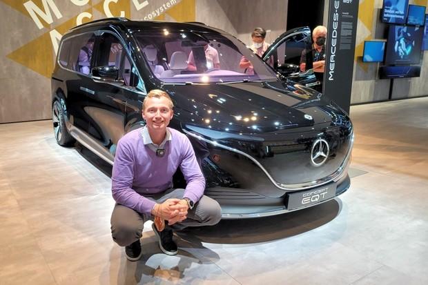 Mercedes-Benz EQT Concept z očí do očí. Návrat klasického MPV