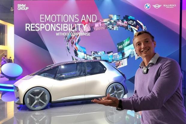 BMW i Vision Circular na vlastní oči. Ještě menší, než jsme doufali
