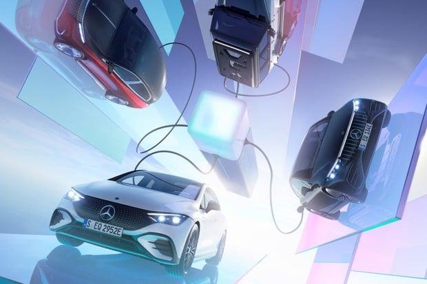 Elektrická  ofenziva Mercedesu: podívejte se, co v Mnichově ukázal