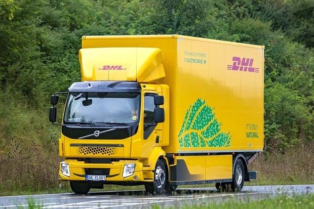 České DHL nasadilo elektrický kamion