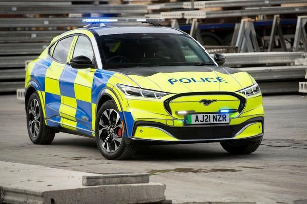 Elektrický Mustang Mach-E brzy vstoupí do služby u britské policie